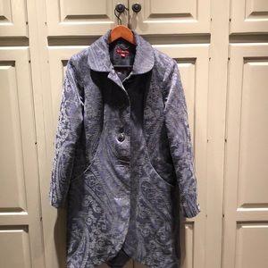 Merona paisley coat